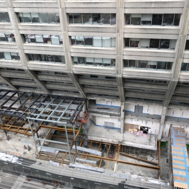 Manulife Centre - Under Construction