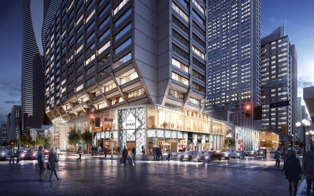 Manulife Rendering with Eataly